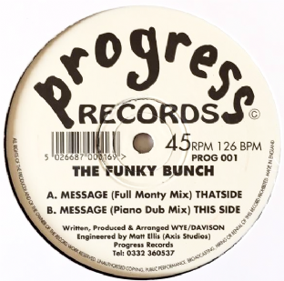 "Funky Bunch (The) - Message (12"") (VG/NM)"